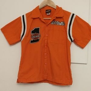 HARLEY DAVIDSON boys t-shirt embroidered patch